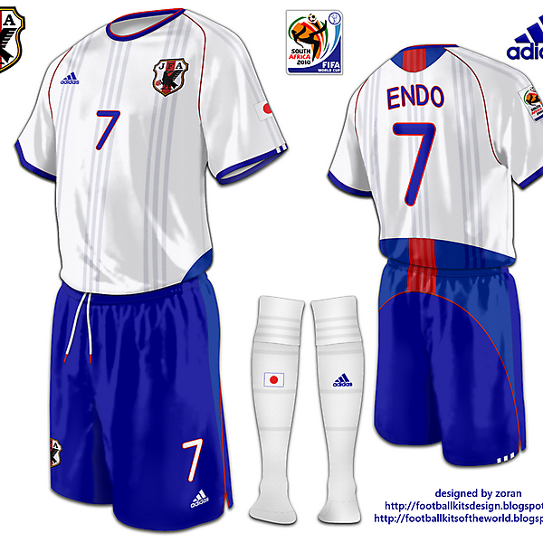 Japan World Cup 2010 fantasy away