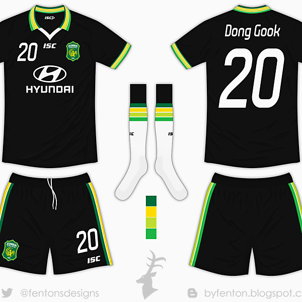 Jeonbuk Motors Away Kit - ISC [Azure League Matchday 4]
