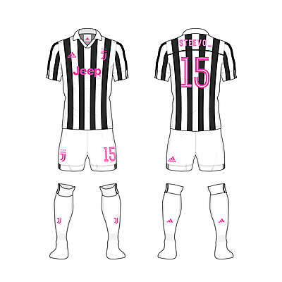 #Juve home kit - @steevo_15