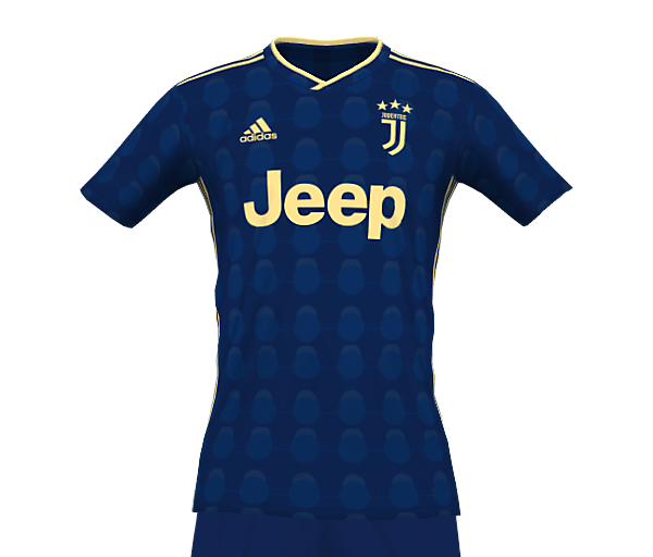 JUVENTUS 21-22 FANTASY THIRD KIT