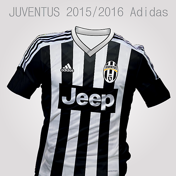 Juventus Adidas, Home Kit 2015/2016