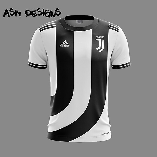 Juventus F.C. Adidas 2018 Home Kit