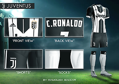 JUVENTUS Football Concept Kit 2018/2019