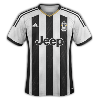 Juventus Home Kit 2015/16 Designs