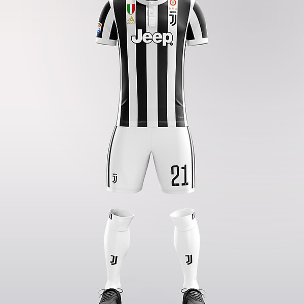 Juventus home kit 2018