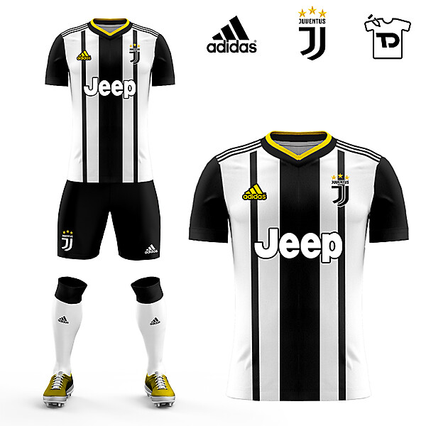 Juventus Home Kit Concept