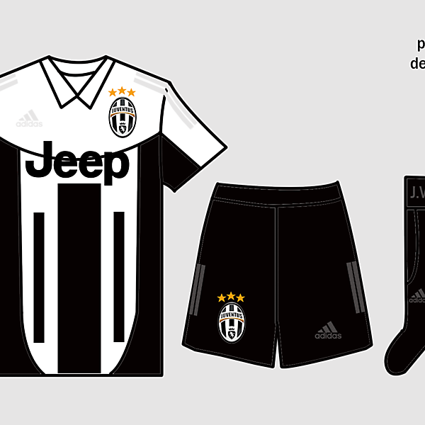 Juventus Kits Home 2017