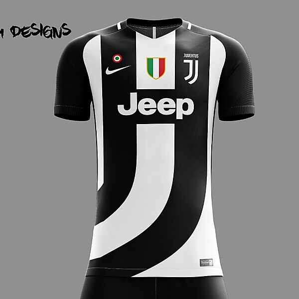 Juventus Nike 2018 Home Kit