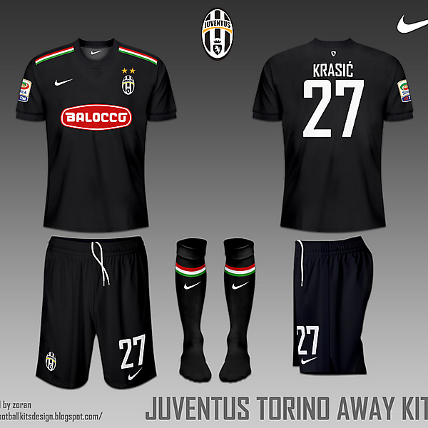 Juventus FC Torino fantasy home and away