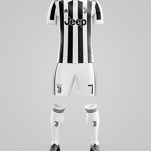 Juventus x Adidas - Home Kit