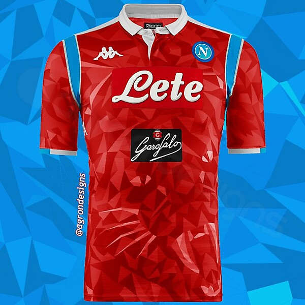 KAPPA X NAPOLI FOURTH KIT CONCEPT