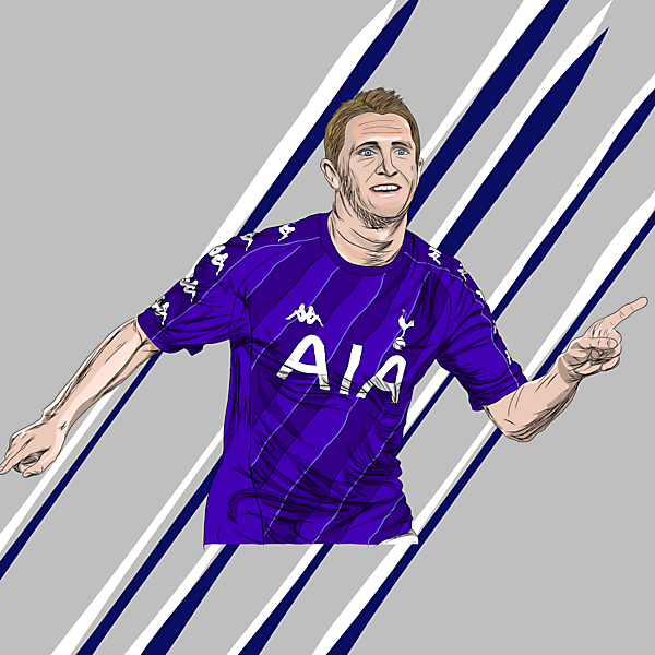 Keane x Spurs x Kappa - Away Kit