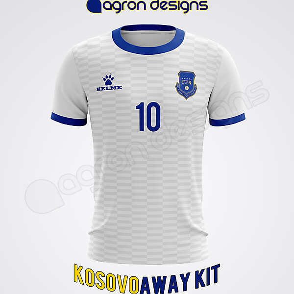 Kelme Kosovo Away Kit Concept