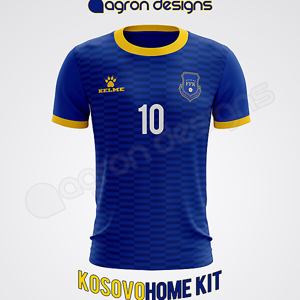 Kelme Kosovo Home Kit Concept
