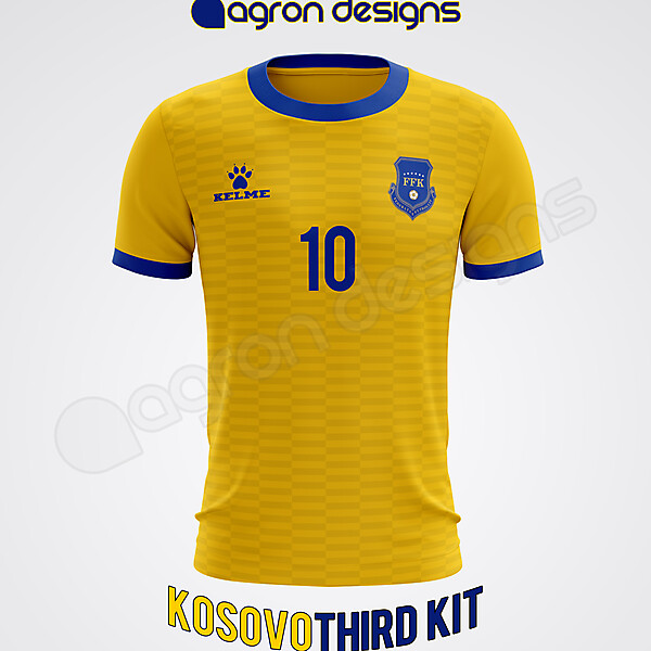 Kelme Kosovo Third Kit Concept