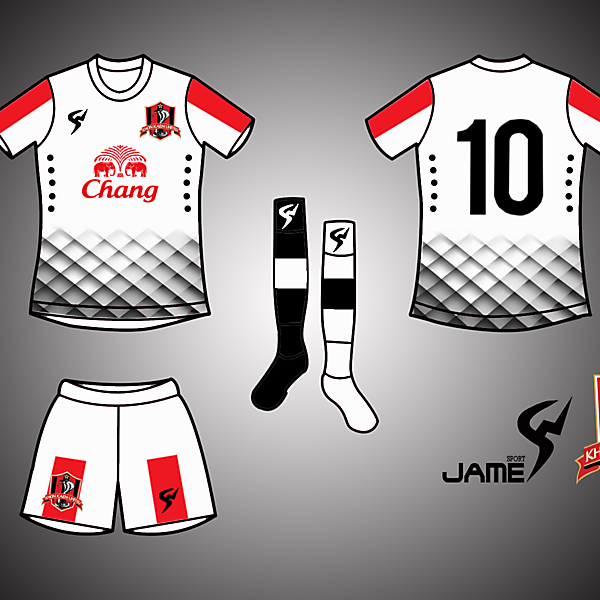 KhonKhaen United Kits Away 2017