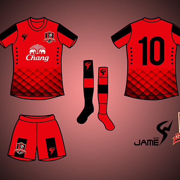 KhonKhaen United Kits Home 2017
