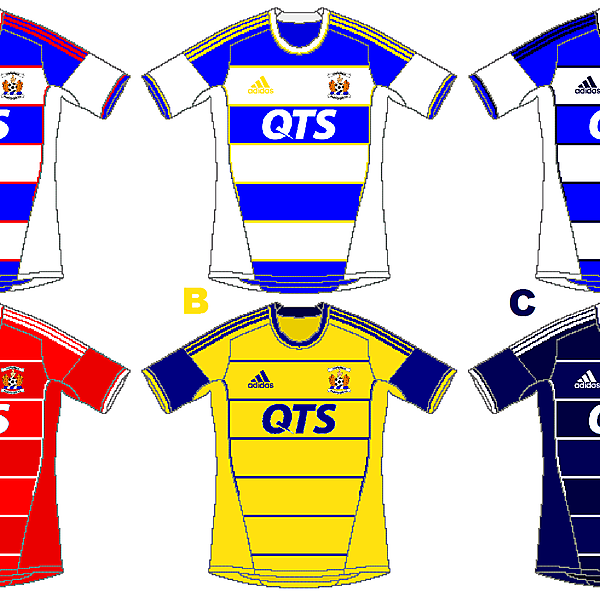 Kilmarnock Adidas Home and Away