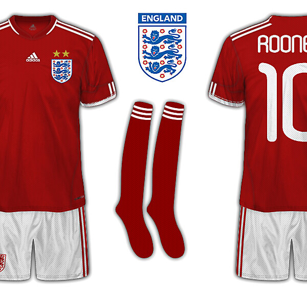 England by Adidas away kit