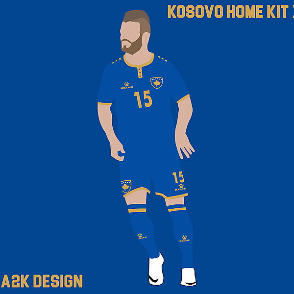 Kosovo home kit x Kelme