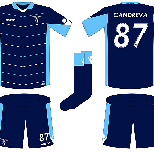 Lazio Away Kit