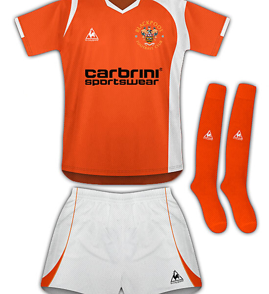 Blackpool 10/11 Home Kit