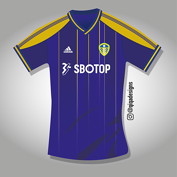 Leeds United - Adidas Away Kit Concept