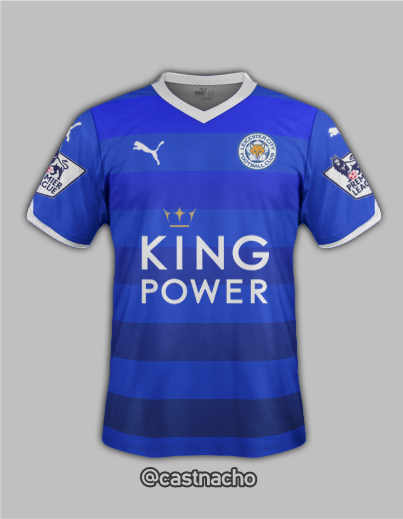 Leicester City 16/17 Fantasy Kit