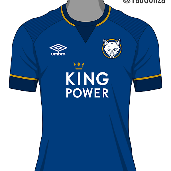 Leicester City Home Kit -With Umbro-