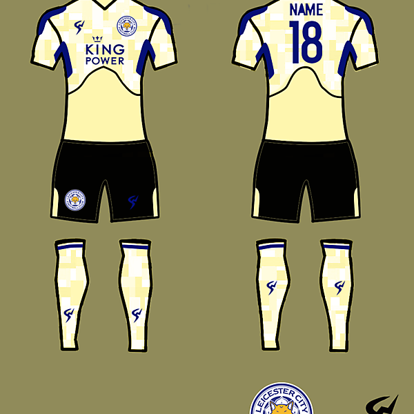 Lester City Kits Away 2017