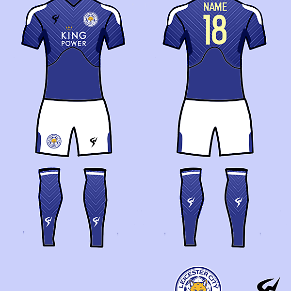 Lester City Kits Home 2017