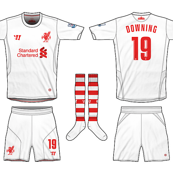 Liverpool Warrior Away 12-13