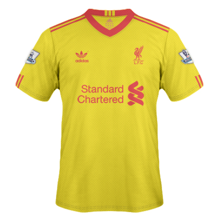 Liverpool Yellow Shirt