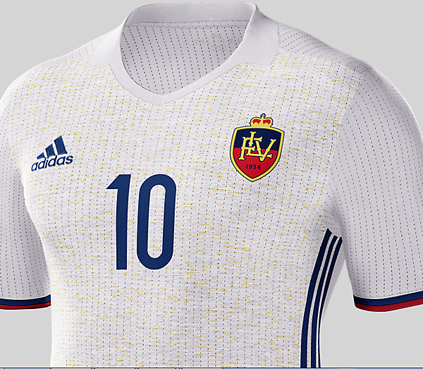 LIECHTENSTEIN Away (MikeM Crest)
