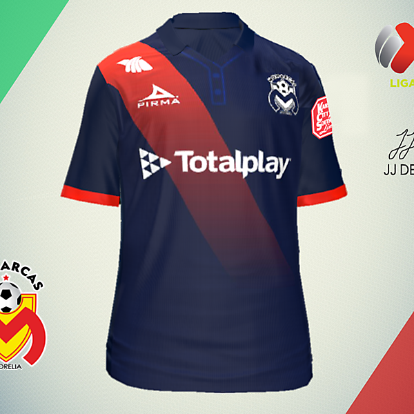 LIGA MX CONCEPTS-Monarcas Morelia Away