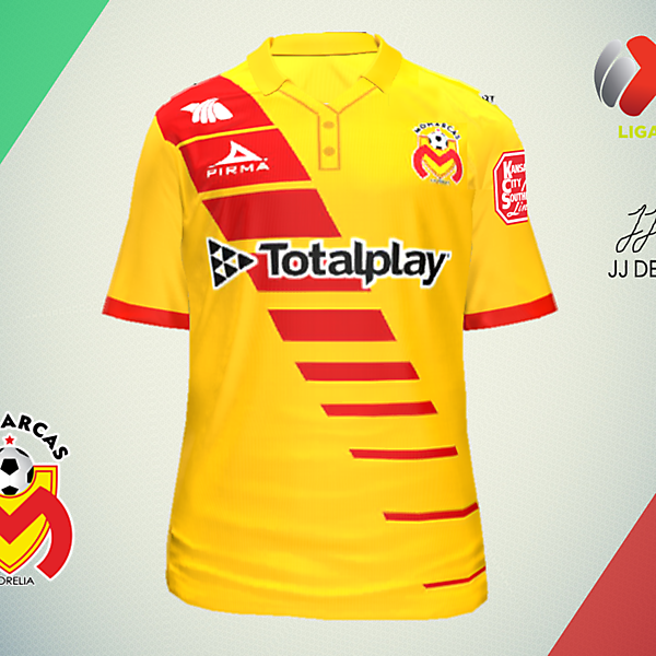 LIGA MX CONCEPTS-Monarcas Morelia Home