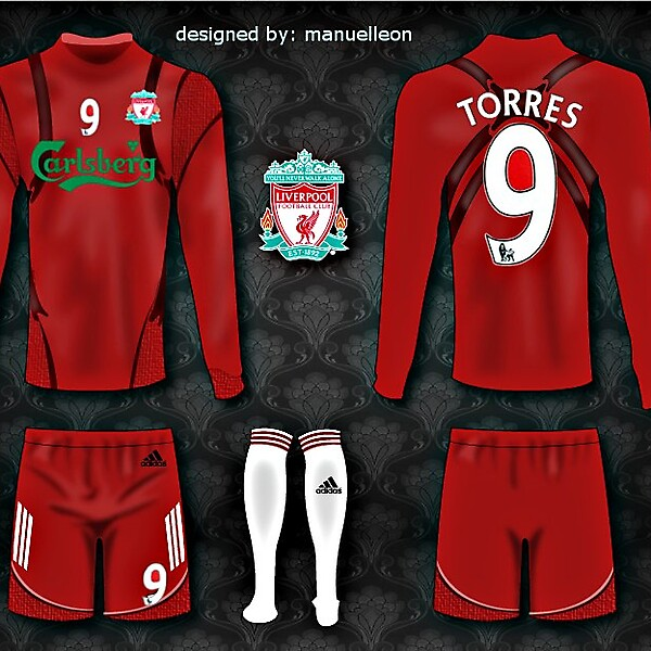 Liverpool Home 10/11 TECHFIT