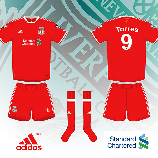 Liverpool 2010/2012 Home Shirt