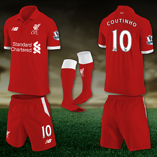 Liverpool 15-16 Home Concept
