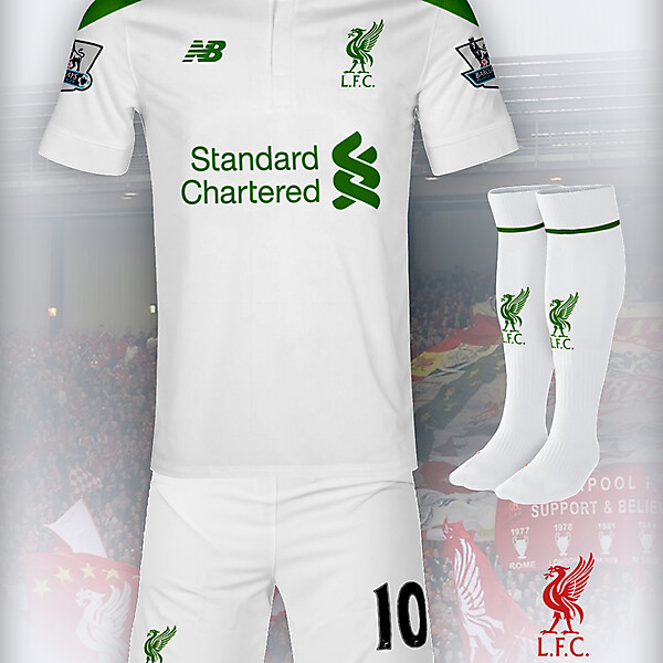 Liverpool 15-16 New Balance Away Concept
