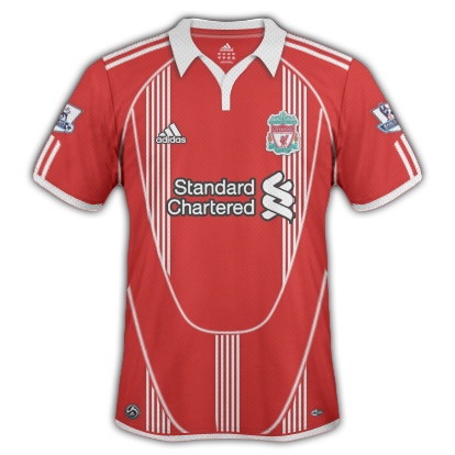 Liverpool FC 2010/11 Home Shirt
