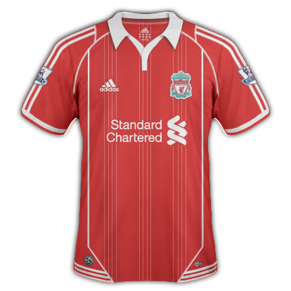 Liverpool FC 2010/11 2nd Home Shirt