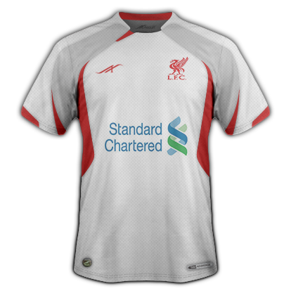 Liverpool fantasy away jersey 2014/15