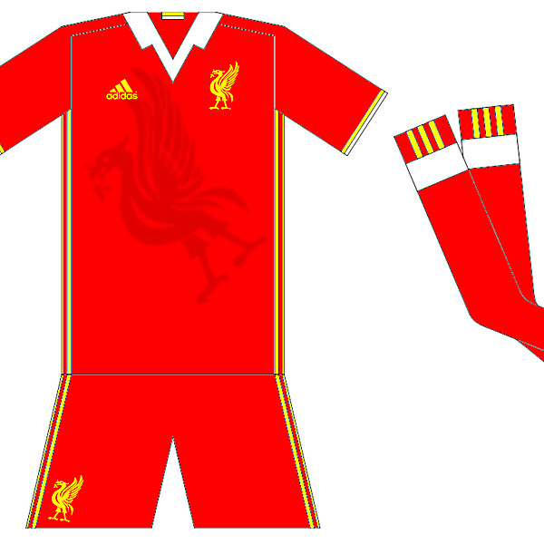 Liverpool 2016-17 Home Idea Adidas