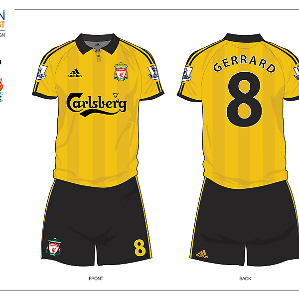 Fantasy Liverpool Away Football Kit