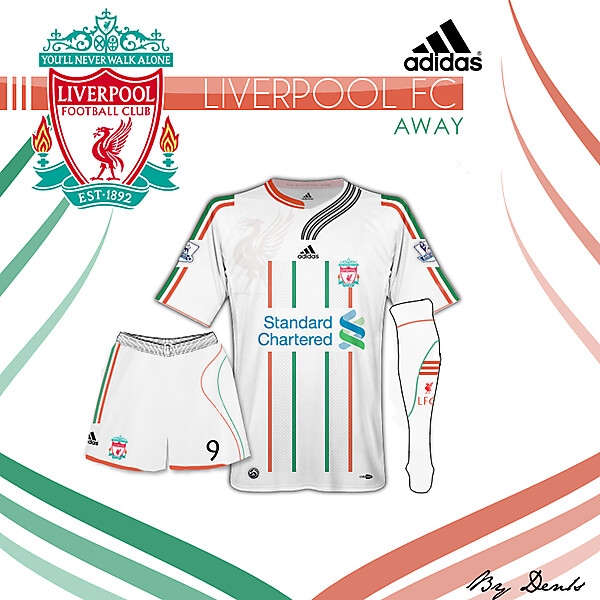 LIVERPOOL FC Away