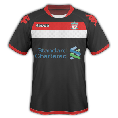 Liverpool Away Fantasy Kit (Kappa)
