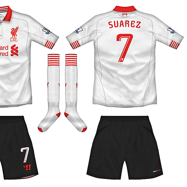 Liverpool Away Kit