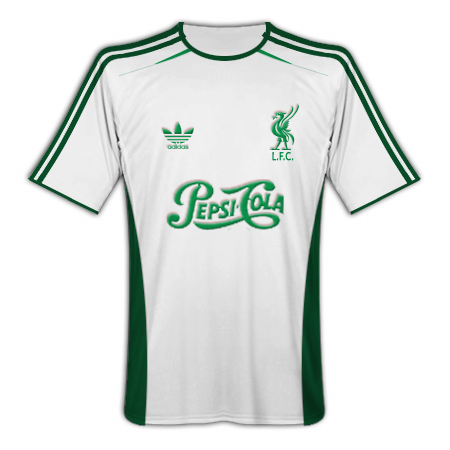 Liverpool Adidas Pepsi-Cola (European Away)