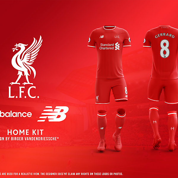 Liverpool FC - Fantasy Football Kit (HOME)